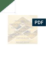 Documento Modalidades Escolarizacion 2013 14