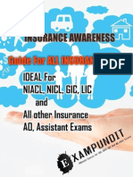 Insurance Awareness PDF by Exampundit