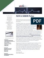 NOVA SHRM January 2015 Newsletter