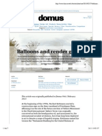 James Bridle, Balloons and Render Ghosts - Domus