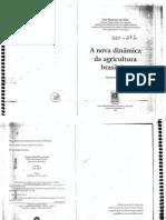 AGRÁRIA_José GRAZIANO DA SILVA_A Nova Dinâmica Da Agricultura Brasileira Cap 1