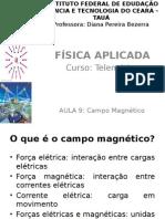 Aula9 Fisica Aplicada Campo Magnético