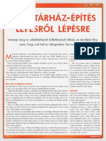 Adattarhaz Epites Lepesrol Lepesre