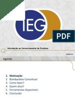Ieg -Gestão de Projetos