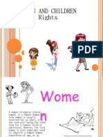 Women and children Rights