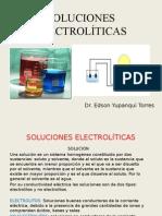 """SOLUCIONES ELECTROLÍTICAS """"FISICOQUIMICA"""""""