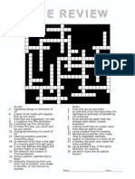 line review crossword