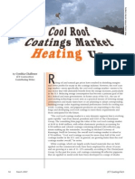 Cool Roof Coatings Market Heating Up