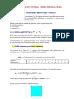 Clase 03 - Medidas de Posicion Central _ Media, Mediana, Moda