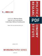 PERI study on minumum wage