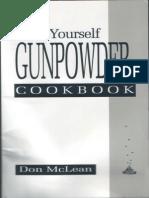Do It Yourself Gunpowder Cookbook