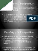 Arte y Filosofía, Panofsky Perspectiva I