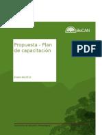 Propuesta - Plan de capacitación