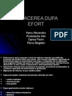 Refacerea Dupa Efort2