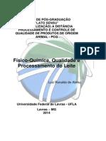 Físico-química, Qualidade e Processamento Do Leite