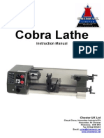 Cobra Lathe Manual