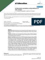 lowenstein et al  2007 medical school faculty discontent