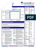 Visio Quick Reference 2007