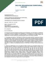 Código Orgánico de Organización Territorial, Autonomía y ... www.urbegestion.com/index.php/por-paises.html?...COOTAD... Código Orgánico de Organización Territorial, Autonomía y Descentralización