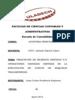 Auditoria Tributaria Presuncion Articulo 72.c. Del c.t.....