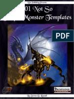 101 Not So Simple Monster Templates v1