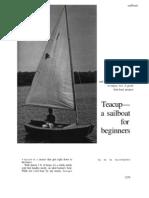 Teacup Sailboat