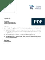 242.ASX ILH Dec 2 2014 Appendix 3B x3 Issue of Shares