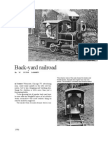 Train Backyard Toy