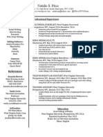 Natalie Price Resume 2015