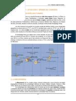 Tema 1. Situación y Origen de Canarias