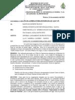 Informe Lanzamiento Proyecto i Trim.
