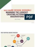 Software Design Class (Session 2)