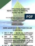 Sandra Cureau - Inconstitucionalidades Do Novo Código Florestal