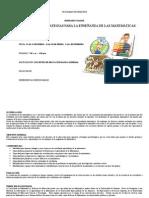 Seminario- Metodología Estrategias Para La Esnseñanza de Las Matemáticas