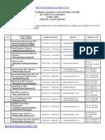 Jadwal Pameran Expo Event Jcc Senayan 2011 (Update)