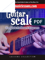 Joe Smith Guitar Scales