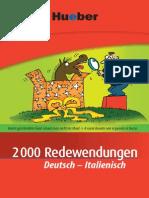 2000 Redewendungen