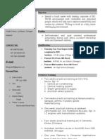 Faisal Resume