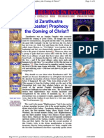 Did Zarathustra (Zoroaster) Prophecy the Coming of Christ