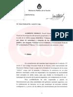 La denuncia completa de Nisman