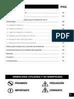 Manual de instalacion de presurizador