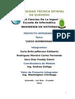 proyecto BOMBERMAN