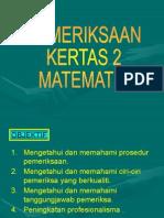 pemeriksaan paper 2 upsr
