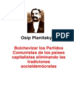 Piatniski-Bolchevizar Los PC de Los Países Capitalistas