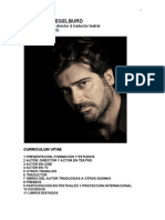 Rafael Spregelburd - CV