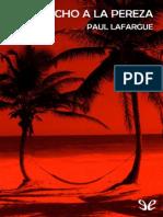 El Derecho a La Pereza de Paul Lafargue r1.0