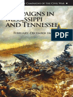 Campaigns in Mississippi and Tennessee February-December 1864