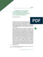 La Implantación de Las Tecnologías de La Información en La Sociedad y en Los Centros Educativos Públicos de Andalucía
