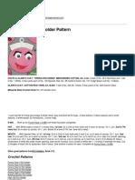 Crochet Patterns - Funny Face III Potholder Pattern - 2013-11-21.pdf