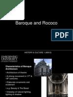 Baroque-Rococo Architecture